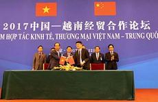Sản phẩm sữa của Vinamilk vào thị trường Trung Quốc