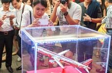 Máy bay đúc bằng vàng của Vietjet lập kỷ lục thế giới