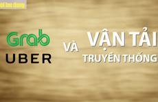 'Cuộc chiến' Grab, Uber ở Việt Nam
