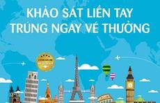 Vietnam Airlines triển khai chương trình khảo sát chất lượng dịch vụ trực tuyến
