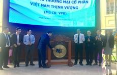 VPBank chào sàn với giá cao nhất nhóm cổ phiếu ngân hàng