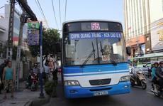 Cần thay mới xe ở tuyến buýt số 55