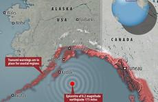 Mỹ cảnh báo sóng thần vì động đất cường độ 8,2