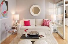 10 cách tuyệt vời trang trí cho phòng khách nhỏ