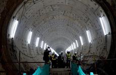 Cận cảnh bên trong đường hầm tuyến Metro đầu tiên của TPHCM