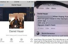 Daniel Hauer đã đến làm việc về việc xúc phạm Đại tướng Võ Nguyên Giáp
