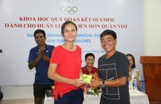 Giảng viên nước ngoài ấn tượng với HLV quần vợt Việt Nam