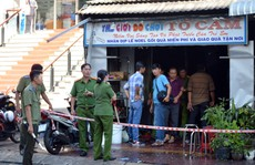 Nhờ có cửa sau, vợ chồng và 2 con thoát chết cháy trong tích tắc