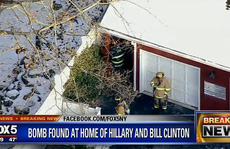 Bom được tìm thấy tại văn phòng của ông Obama và nhà bà Clinton