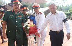 Truy điệu các liệt sĩ được tìm thấy trong hố chôn tập thể ở Đồng Nai