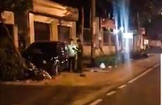 Phó trưởng công an Đồng Xoài lái ôtô, làm 2 người vào cấp cứu