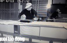 Video: Trộm 100 lượng vàng, lấy cắp luôn đầu ghi camera