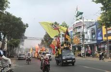 CĐV Nam Định làm nóng trận 'chung kết ngược' tại Cần Thơ