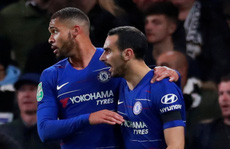 'Ghi' 4 bàn, Derby County thua đau Chelsea ở League Cup