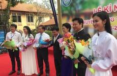 Ca sĩ Đông Nhi hát mừng 100 năm thành lập Trường THPT Marie Curie