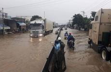 Áp thấp nhiệt đới gây thiệt hại nhiều nơi