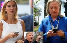 """Ái nữ của ông Trump """"đi vào vết xe đổ"""" của bà Hillary Clinton"""