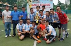 Sôi nổi giải bóng đá SAMCO League