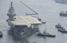 Tàu sân bay tự chế mới của Trung Quốc 'trúng đòn' Mỹ