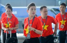 Đẩy sớm giờ khởi hành các chuyến bay từ Hà Nội, TP HCM đi Bacolod 'tiếp lửa' tuyển Việt Nam