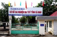 Cán bộ sơ hở, học viên cai nghiện ở Cà Mau lại trốn trại