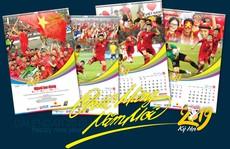 Báo Người Lao Động phát hành bộ lịch 'Mừng chiến thắng AFF Cup 2018'