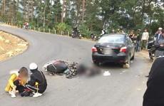 Cặp 'phượt thủ' gặp nạn khi đổ đèo gần đỉnh Tam Đảo