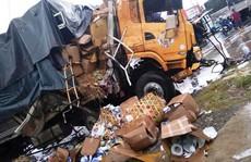 Xe tải đối đầu xe container gây tai nạn liên hoàn, 2 người tử vong