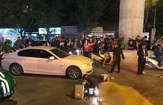 Cô gái va chạm với xế hộp BMW, bị xe buýt cán tử vong