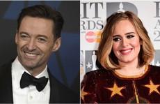'Họa mi' Adele bị 'người sói' Hug Jackman đánh bại
