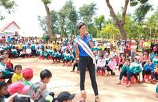 Hoa hậu H'Hen Niê truyền cảm hứng cho giới trẻ!