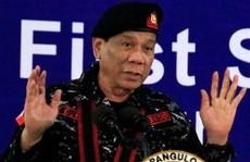 Ông Duterte 'thà bị xử bắn còn hơn ngồi tù'