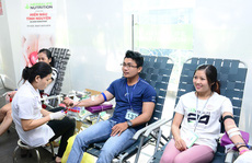 Herbalife Việt Nam tham gia hiến máu tình nguyện