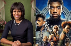 Bà Michelle Obama yêu phim 'Chiến binh báo đen'
