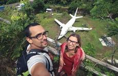 Chiếc máy bay bí ẩn 'hiện hình' trên đảo Bali