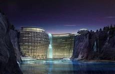 Tuyệt tác khách sạn 5 sao nằm sâu trong lòng đất 100m