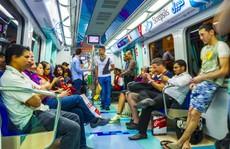 Ngắm tàu đô thị không người lái của Dubai
