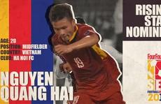 Quang Hải được đề cử 'Cầu thủ trẻ hay nhất Đông Nam Á'