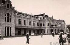 Ngỡ ngàng diện mạo khác lạ ga Hà Nội thời thuộc địa