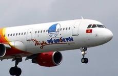 Máy bay 'Tôi yêu Tổ quốc tôi' của Vietjet đưa sinh viên, công nhân về quê ăn Tết