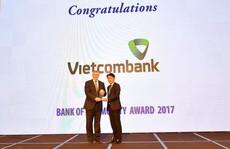 Ngân hàng Việt Nam tiêu biểu 2017 vinh danh Vietcombank
