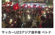 Báo Nhật bị 'sốc' bởi U23 Việt Nam