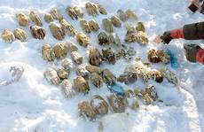 'Tìm ra nguồn gốc' 54 bàn tay người ở Nga