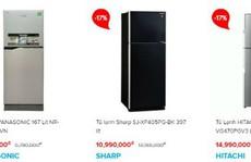 Hàng điện lạnh bắt đầu giảm giá để 'chào hè'