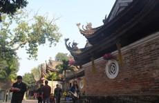 Chùa Tây Phương với 18 pho tượng La Hán