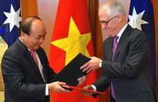 Việt Nam - Úc thiết lập Đối tác chiến lược
