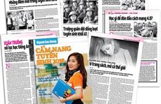 'Cẩm nang Tuyển sinh 2018' của báo Người Lao Động đến tay độc giả