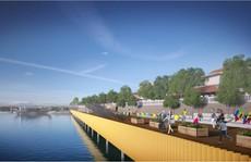 Huế lên tiếng dự án dùng gỗ lim lát sàn cầu đi bộ dọc sông Hương
