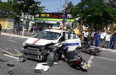 Đà Nẵng: 6 xe tông nhau, 5 người bị thương nhập viện