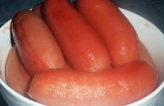 Chuối xiêm nấu nước dừa xiêm
